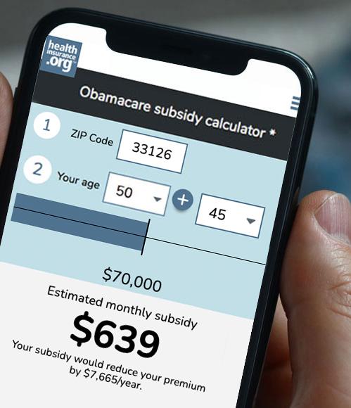 2021 health insurance premium subsidy calculator